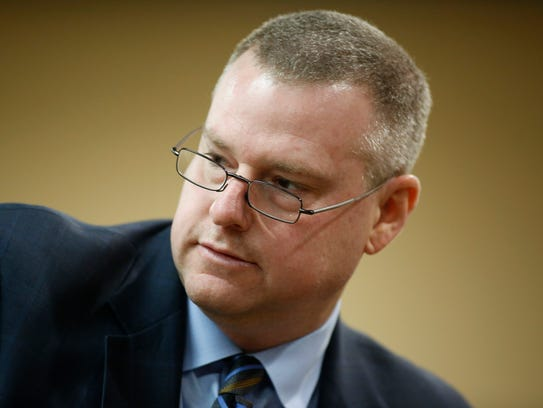 State Prosecutor Jon Fuchs after closing arguments
