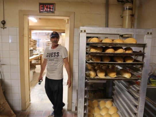 Milena's Bakery proprietor and head baker Tony Pinzarrone