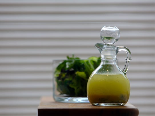 Vinaigrette and salad. DIANE WEISS/Detroit Free Press