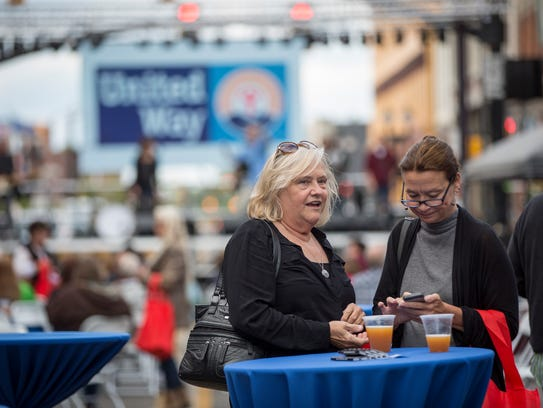 Hundreds gathered for the United Way of Delaware County