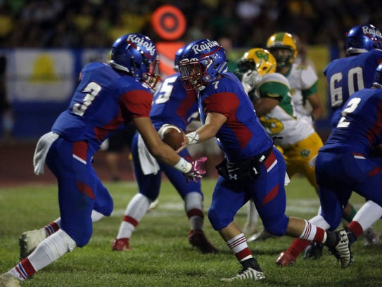 Indio and Coachella Valley football action on Friday,