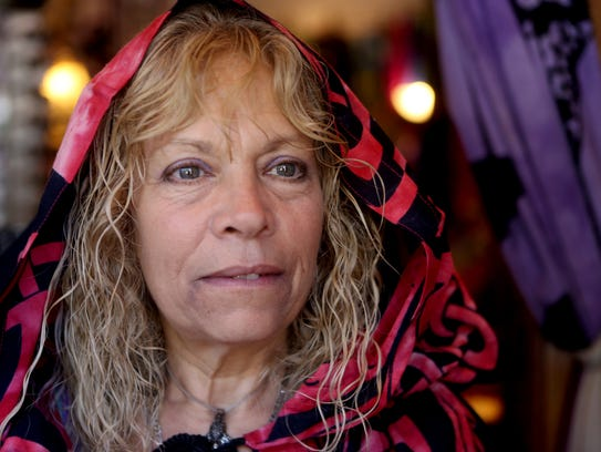 Sheryl Glickman, owner of Notions-N-Potions in Beacon, photographed Sept. 27, 2017. She is chairwoman of the Psychic Fair and kids' Halloween Parade. She got married on Halloween in Salem, Massachusetts.