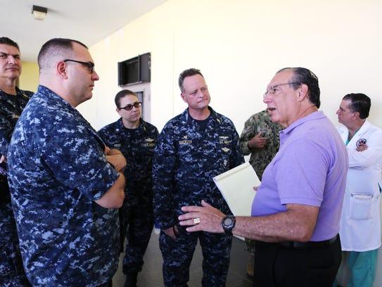 Dr. Carlos Gomez Marcial, emergency medical director