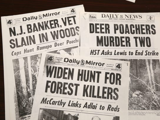 Newspaper reports of the1952 killing of Ramapo Town