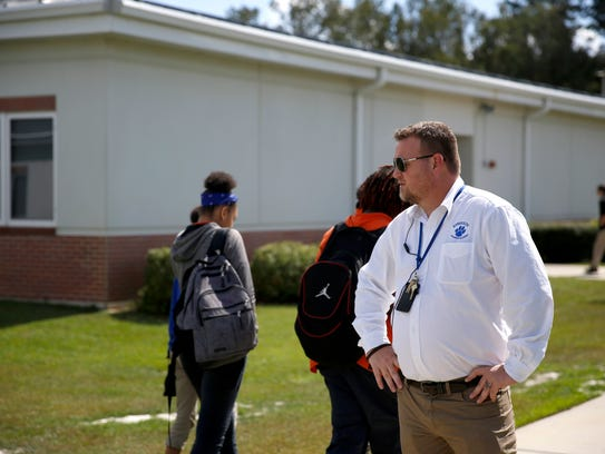 Jefferson County K-12 Principal Cody Oliver visits