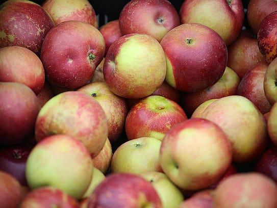 Apples are now available at area tailgate markets.