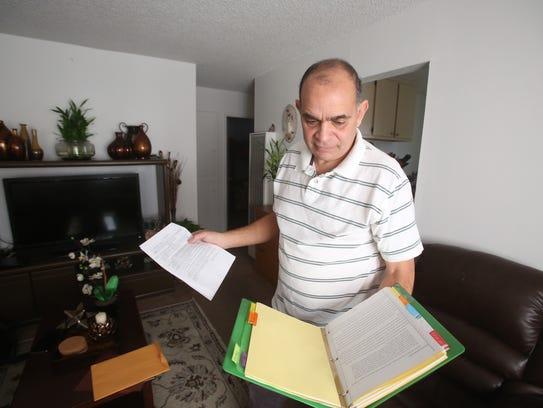 Carlos Garcia, a former driver for Fargo Trucking,