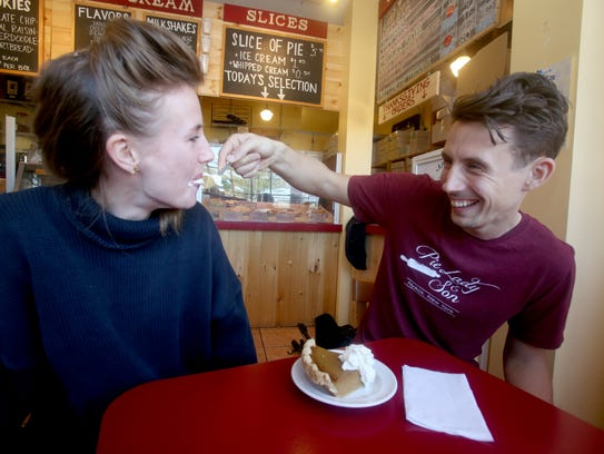 Siblings Will and Bri Tyler, owners Pie Lady & Son