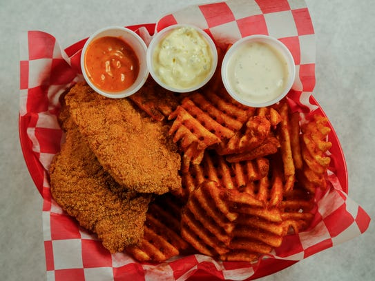 The catfish basket from The Seafood Trap in Des Moines