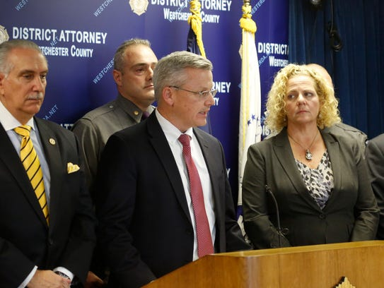 FBI Special Agent in Charge Michael McGarrity with