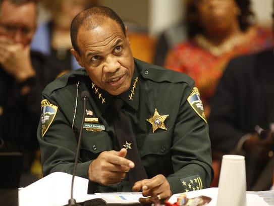 Sheriff Walt McNeil