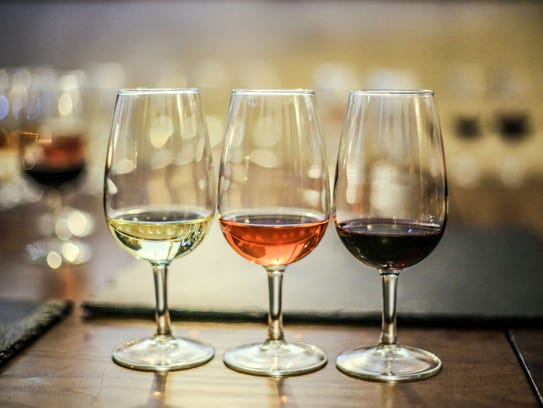 Wine colors and tastes are heavily influenced by how much skin is in the game.