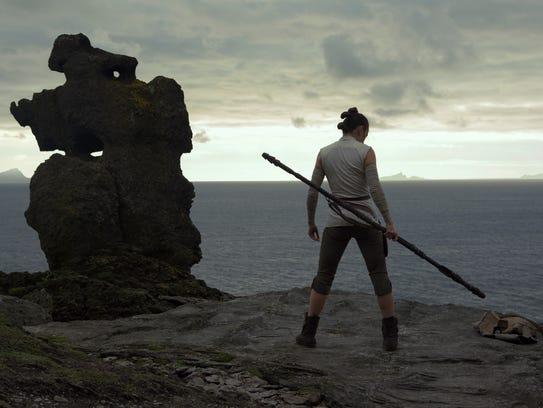 Star Wars: The Last Jedi..Rey (Daisy Ridley)..Photo: