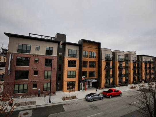 Confluence on Third, 103 SW 3rd St. in Des Moines Thursday,