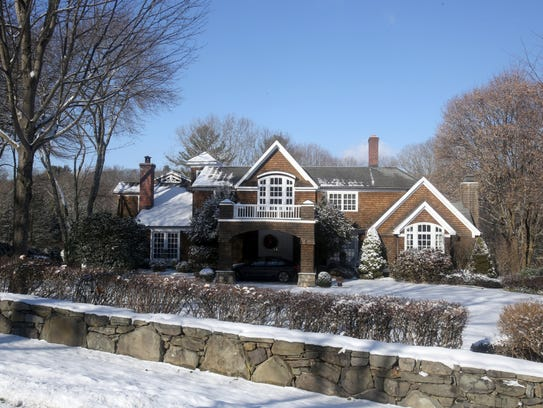 The home at 23 Fox Hill Road, photographed Dec. 14,