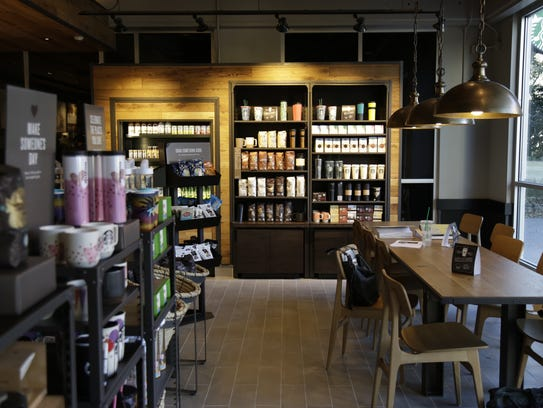 A new Starbucks opened Monday in TCC's Capitol Center.