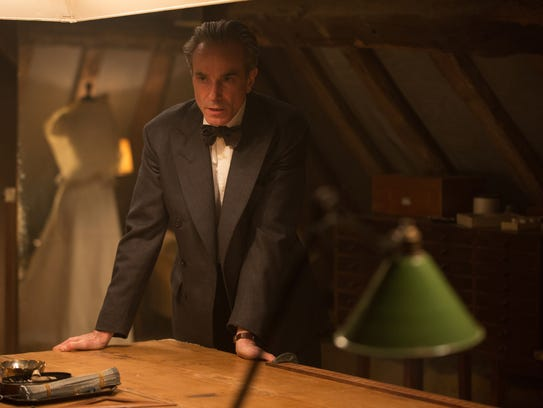 "Daniel Day-Lewis stars as Reynolds Woodcock in ""Phantom"