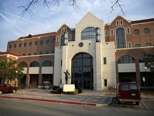 The Coyle Moore Athletic Center at Florida State, pictured