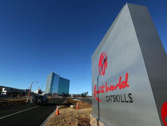 Resorts World Catskills casino, under construction