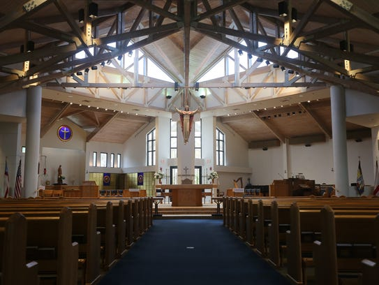 St. Mary's Episcopal Church is celebrating its 40th