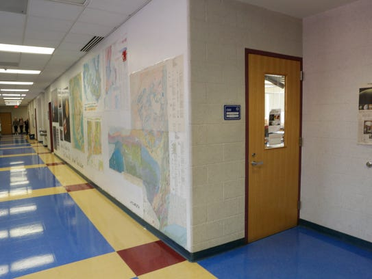 The science classroom labs would be expanded.