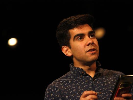 Cristian Mercado reads the closing monologue of his