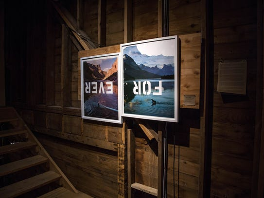 """An exhibit at The Wassaic Project. """"Forever"""" was part"""