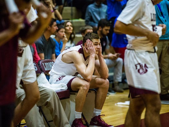 First Baptist players react to losing to Canterbury