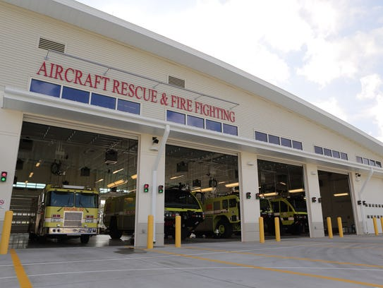 Aircraft Rescue & Fire Fighting building at Southwest