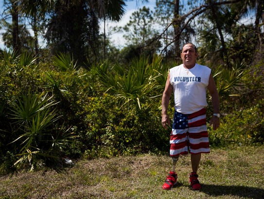 Curt Robidoux poses for a portrait on Thursday, March