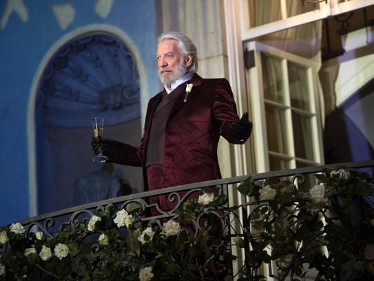 Donald Sutherland reached a new generation of movie