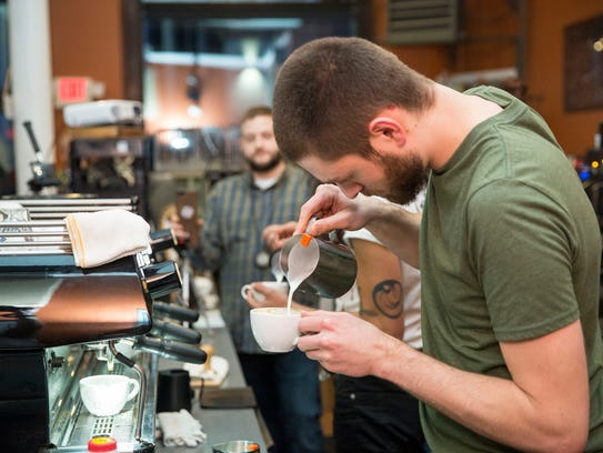 Baristas from across the state compete in the Latte