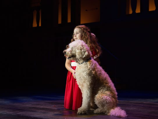 """Annie was among the shows presented by the Henegar"