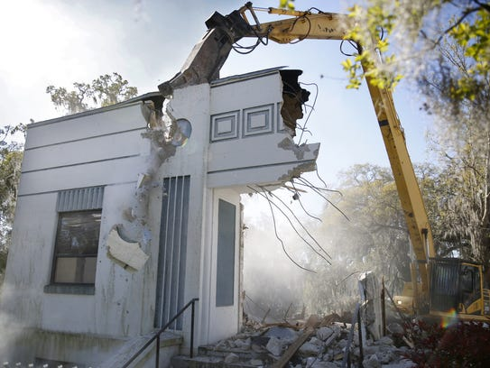 Demolition of existing structures begins March 14 on