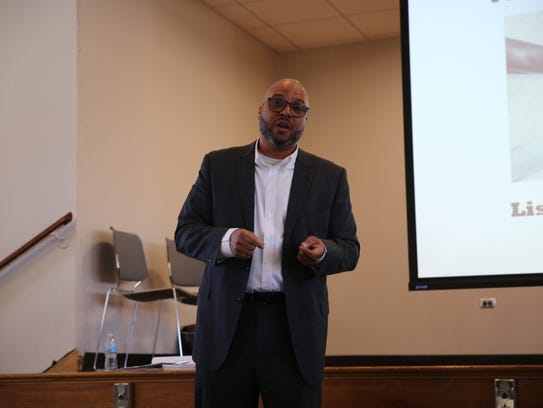 Danny Hairston, the coordinator of Family Services'