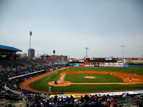 The Iowa Cubs open their season against the Oklahoma