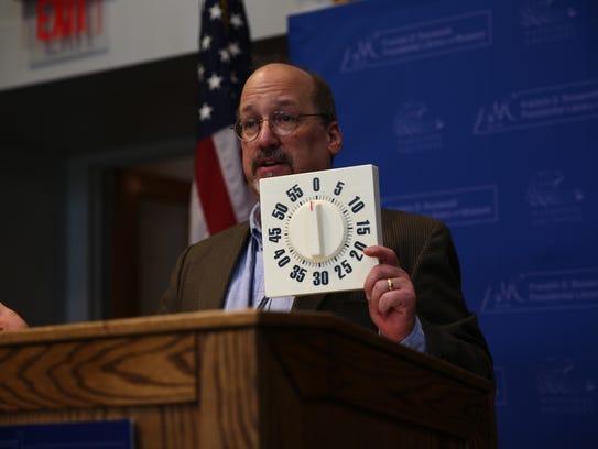 FDR Library Education Specialist Jeffrey Urbin tells