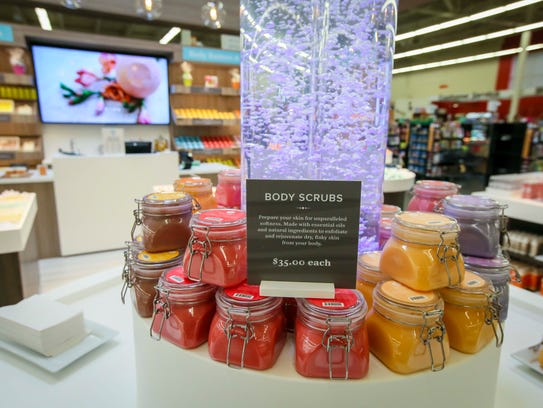 Basin body scrubs can be tested inside the Urbandale