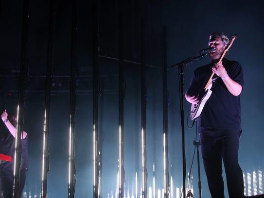 Apr 21, 2018; Indio, CA, USA; alt-J perform during