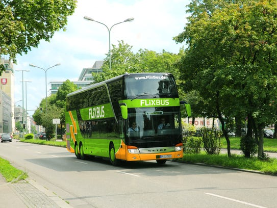 FlixBus, a 5-year-old Germany company, is launching