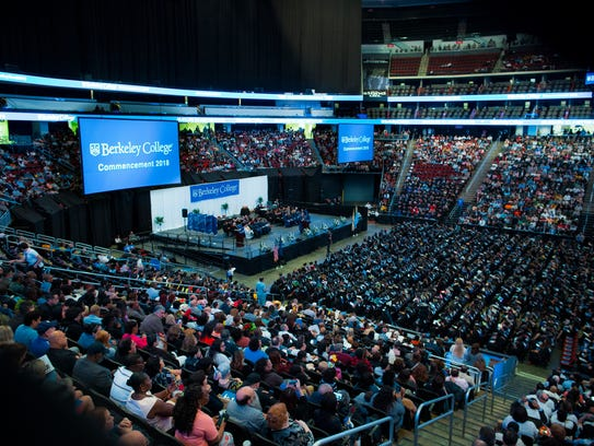 The 2018 Berkeley College Commencement ceremony was