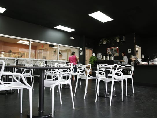 The Tally Cat Café dining area.