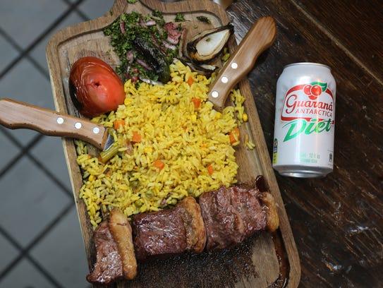 Brazilian-style picanha steak ($16.99) from La2 Mooshi