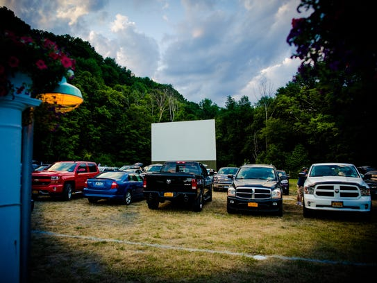 4 Brothers Drive-In shows a double-feature every night.
