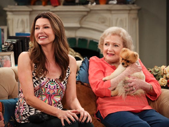 Hot In Cleveland George Clooney Dog