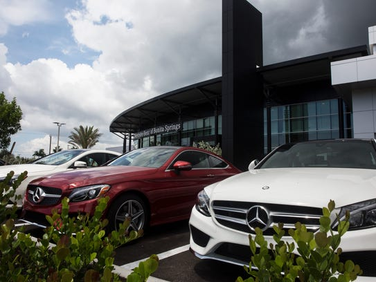 More car dealerships rolling into southwest florida for Mercedes benz dealers in florida