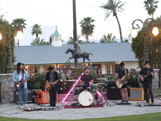 The Tribesmen Play At IOTA HAUS Coachella Valley