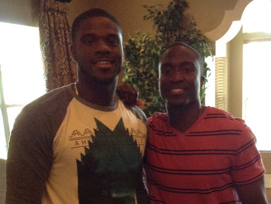 Keon Humphries has served as a big brother, role model