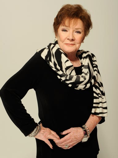 """Sept. 20, 2014: Polly Bergen an Emmy-winning actress and singer, who in a long career played the terrorized wife in the original """"Cape Fear"""" and the first woman president in """"Kisses for My President,"""" died Saturday at her home in Southbury, Conn., publicist Judy Katz said. She was 84.Polly Bergen of the film 'Struck by Lightning' visits the Tribeca Film Festival 2012 portrait studio at the Cadillac Tribeca Press Lounge on April 21, 2012 in New York City."""