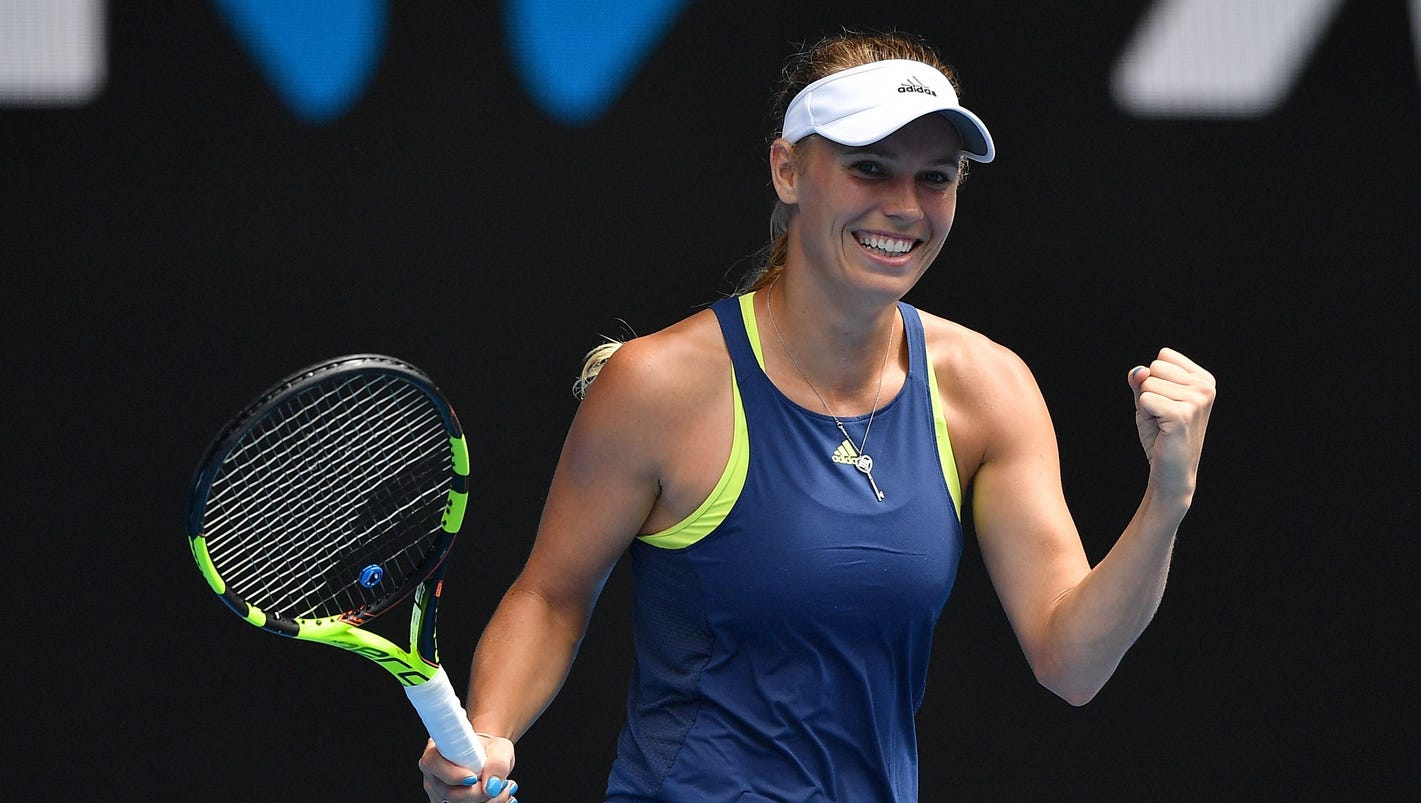 Wozniacki into Aussie Open quarterfinals vs. Navarro
